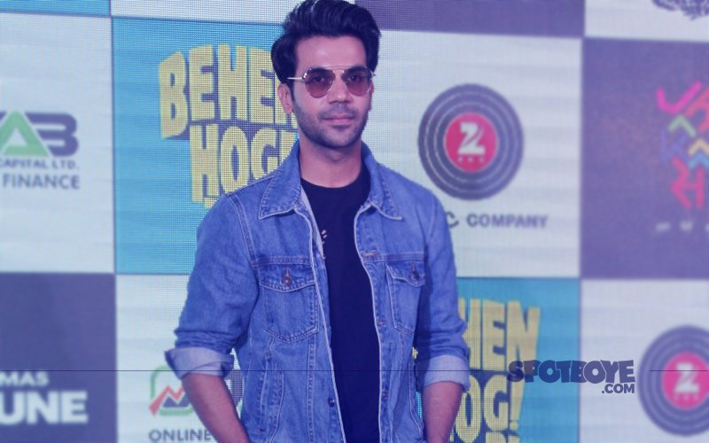 Rajkummar Rao Takes A Dig At Bollywood 'No-Brainers' At The Song Launch Of Behen Hogi Teri