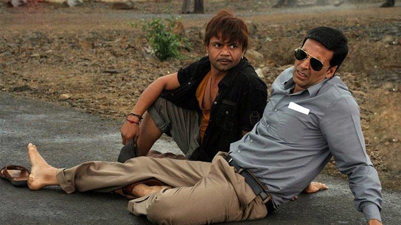 rajpal yadav with akshay kumar