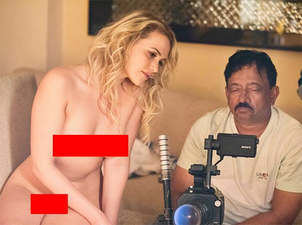 ram gopal varma and mia malkova behind the scenes of god sex and truth