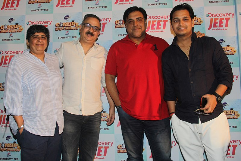 ram kapoor paritosh tripathi and the producers of comedy high school