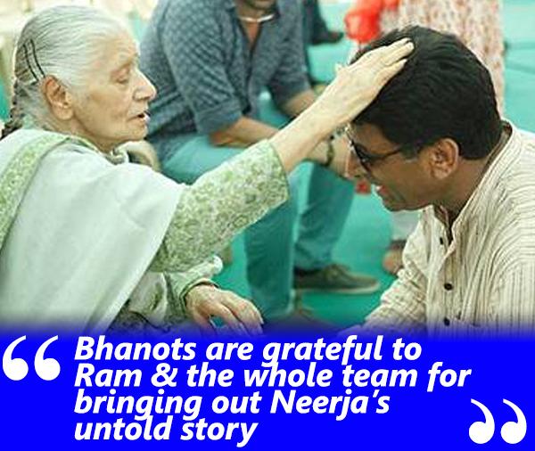 rama bhanot and ram madhvani neerja
