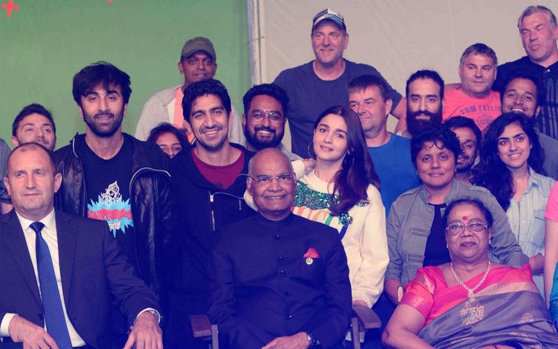 आलिया भट्ट और रणबीर कपूर से मिलने फिल्म ब्रह्मास्त्र के सेट पर पहुंचे भारत के प्रसीडेंट रामनाथ कोविंद