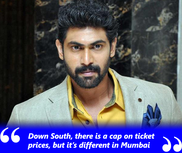 rana daggubati on south indian film industry