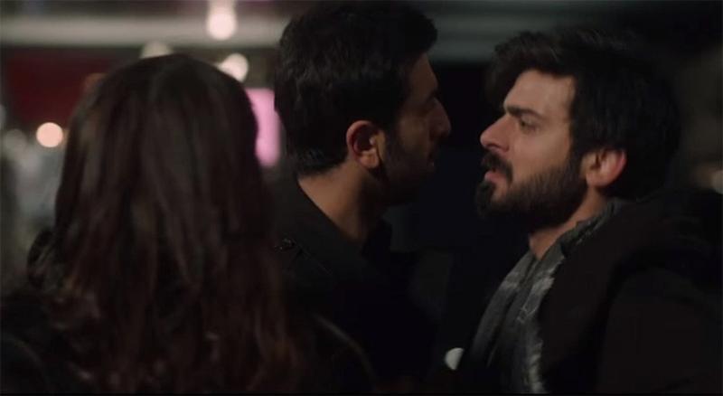 ranbir kapoor and fawad khan in ae dil hai mushkil