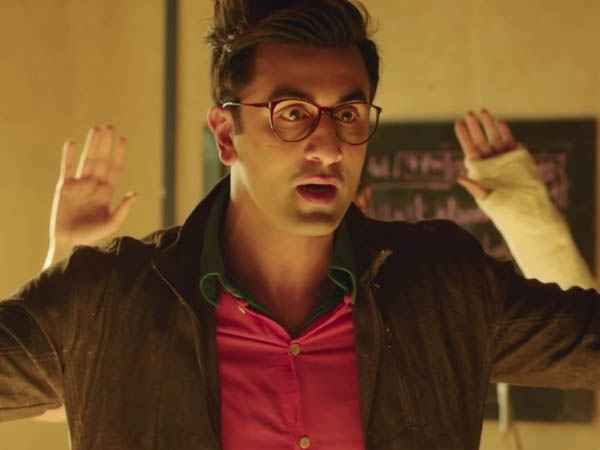 ranbir kapoor in a still from jagga jasoos
