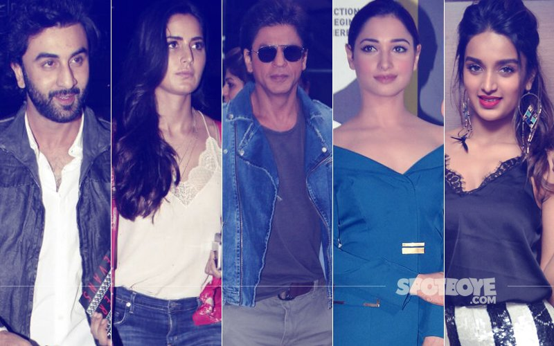 STUNNER OR BUMMER: Ranbir Kapoor, Katrina Kaif, Shah Rukh Khan, Tamannaah Bhatia Or Nidhhi Agerwal?