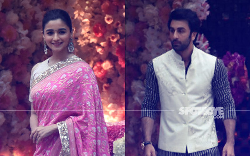 Akash Ambani Pre-Engagement Party: The Wait Is Over, Splendent Alia Bhatt Joins Debonair Ranbir Kapoor