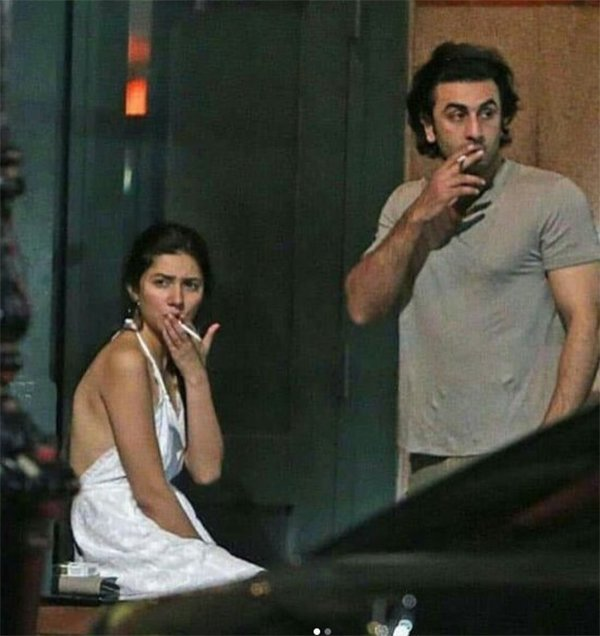 mahira khan and ranbir kapoor