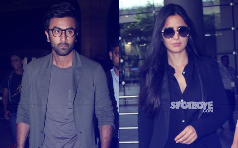 Ranbir Kapoor And Katrina Kaif Slay Airport Fashion In Cool Casuals