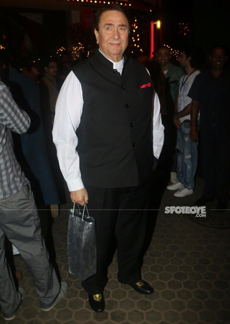 randhir kapoor at prithvi theatre festival 2017