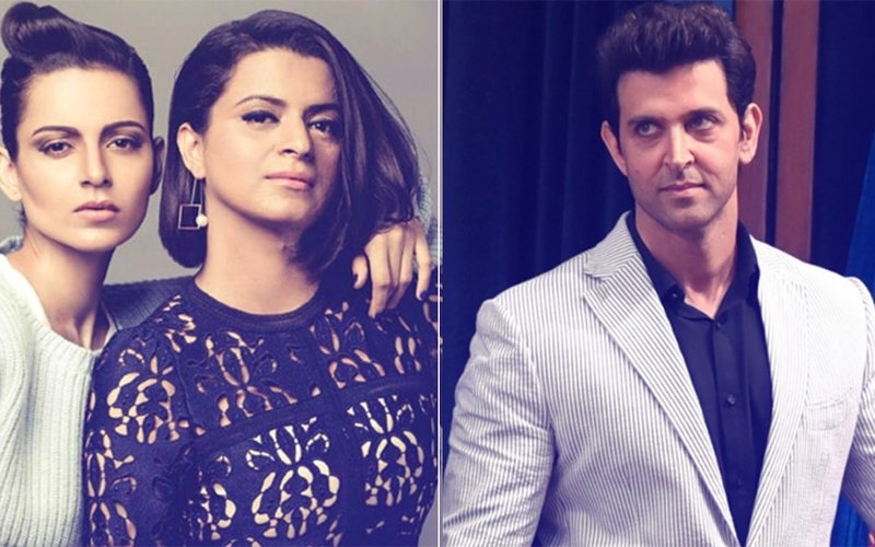 Rangoli Blames Hrithik Roshan For Dragging Kangana Ranaut In CDR Controversy