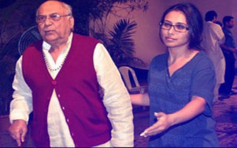 Rani Mukerji's Father, Filmmaker Ram Mukherjee Passes Away