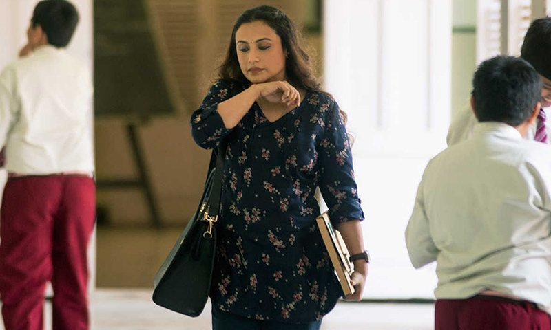 rani mukerji in the movie hichki