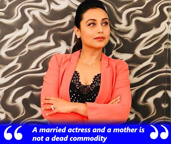 rani mukerji on marriage