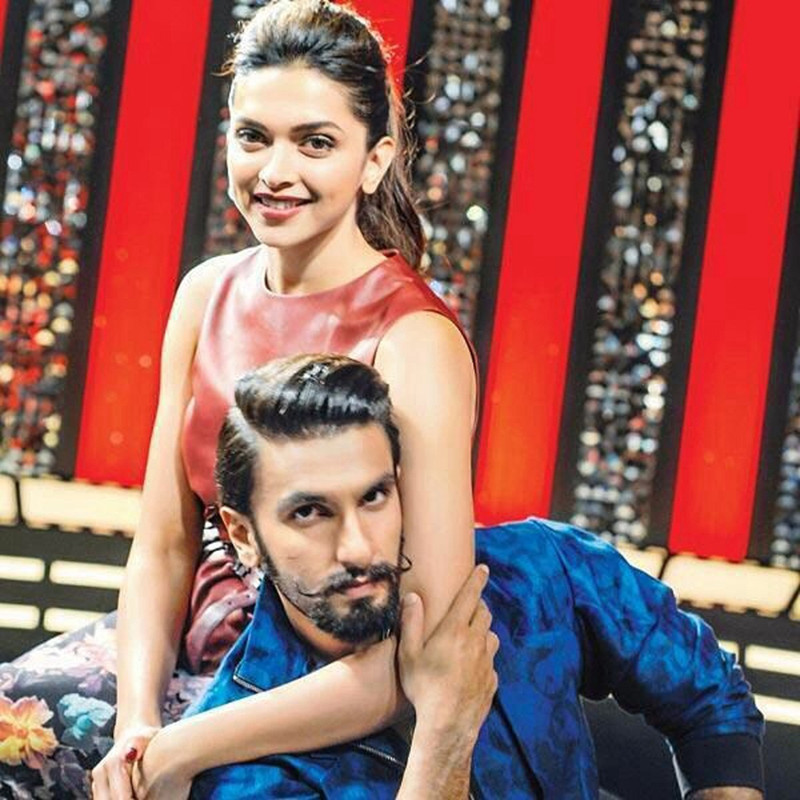 ranveer singh and deepika padukone are all smiles