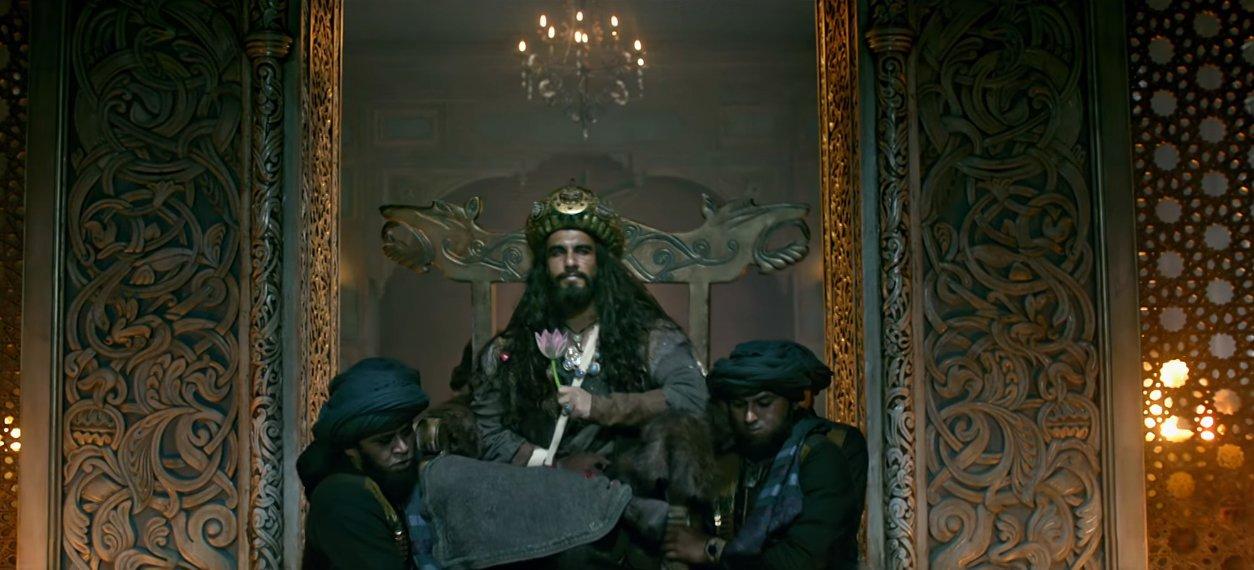 ranveer singh as alauddin khilji in padmavati