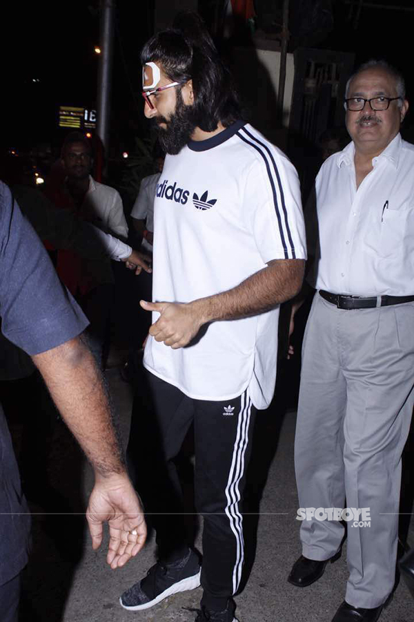 ranveer singh through lilavati hospital