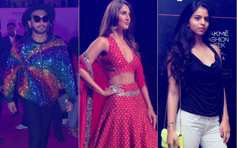 LAKME FASHION WEEK 2017, Day 4: Ranveer Singh, Vaani Kapoor & Suhana Khan Are The Stars Of The Show