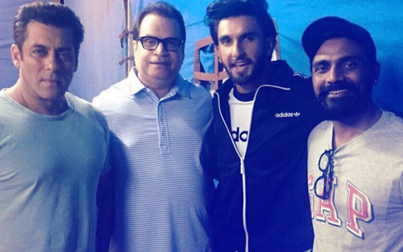 What Is Ranveer Singh Doing On-The-Sets Of Salman Khan's Race 3?