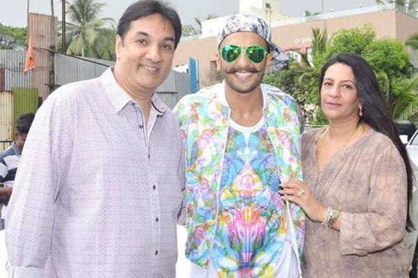 Ranveer Singh With Family