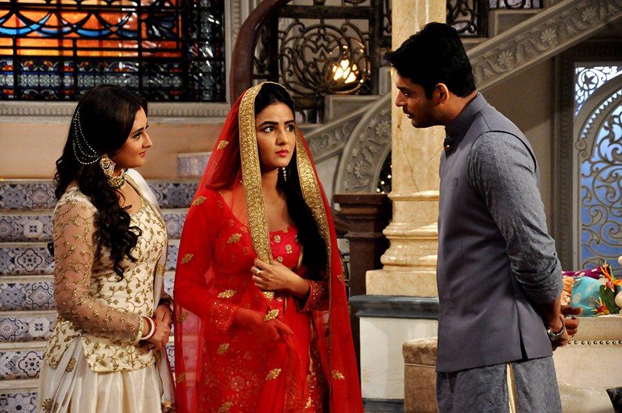 rashami desai jasmine bhasin siddharth shukla in dil se dil tak