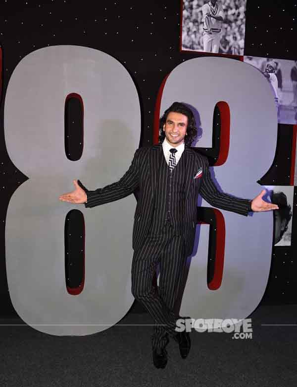 ranveer singh at og 83 event