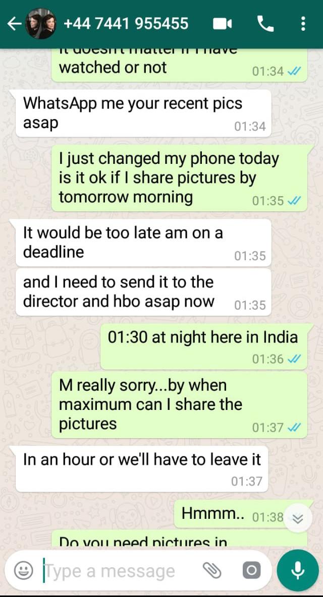 reena aggarwal whatsapp conversation 3