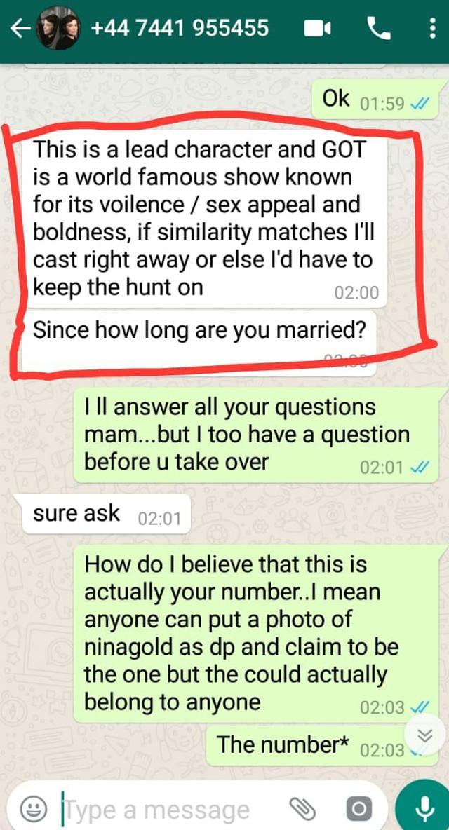 reena aggarwal whatsapp conversation 5