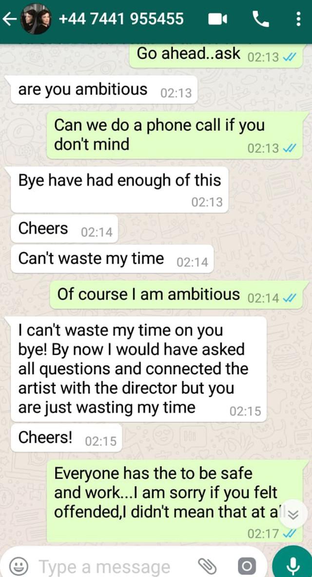reena aggarwal whatsapp conversation 7