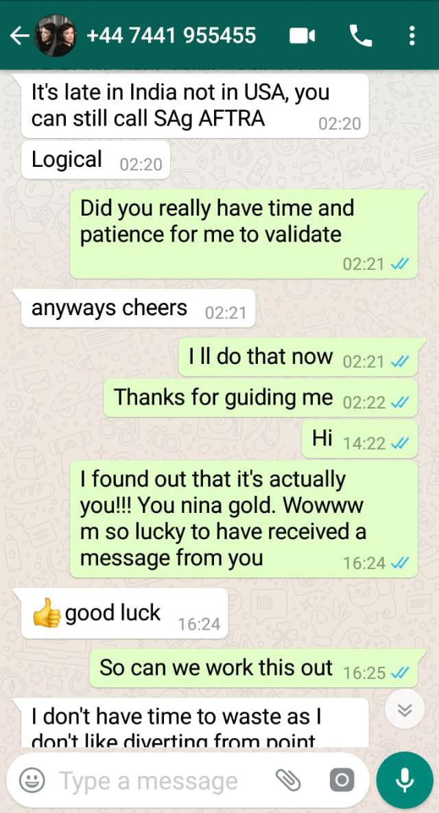 reena aggarwal whatsapp conversation 8