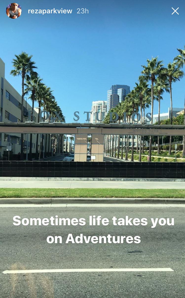 reza park view instagram story