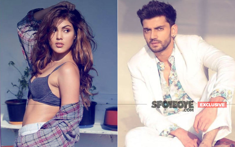 What's Brewing Between Rhea Chakraborty & Salman Khan's Discovery Zaheer Iqbal?
