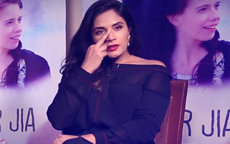 Richa Chadha: No Cuss Words For Me, Only Middle Finger!