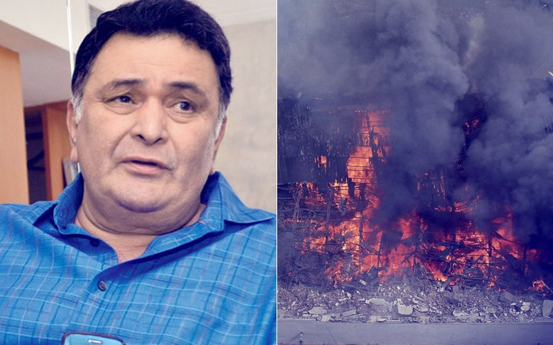 Rishi Kapoor On RK Studio Fire: Costumes Worn By Nargis To Aishwarya Rai Bachchan- Everything Is Gone!