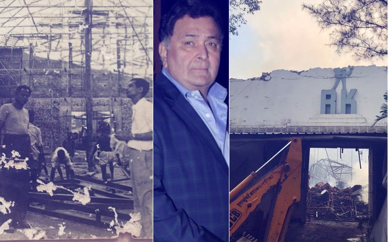 After RK Studio Fire, Rishi Kapoor Promises To Make A State-Of-The-Art Studio
