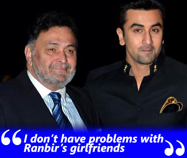 rishi kapoor exclusive spotboye salaam interview with khalid mohamed talking about ran bir kapoor and his girlfriends