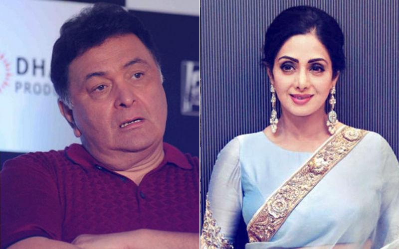 Rishi Kapoor Fails To Recognise Sridevi, Gets Massively Trolled