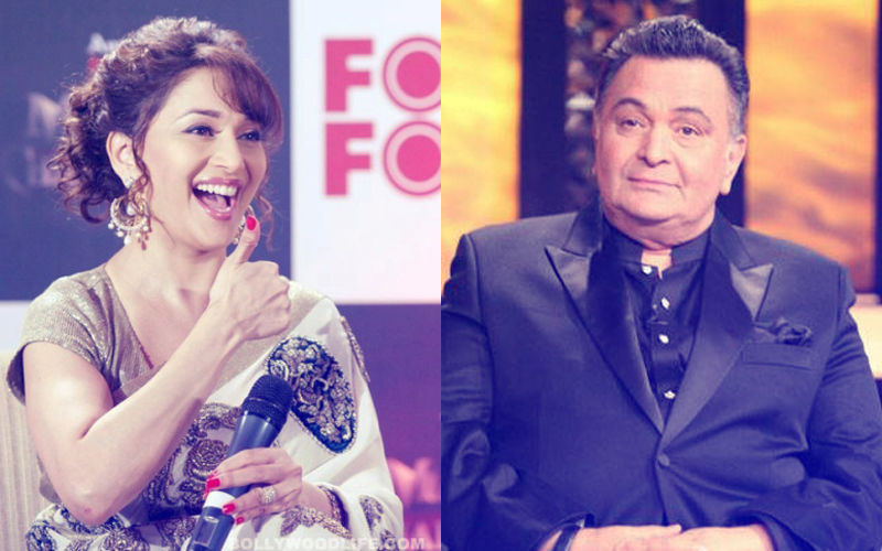 Madhuri Dixit-Rishi Kapoor Wore Burqa & Travelled In A Train. Guess What Happened Next?