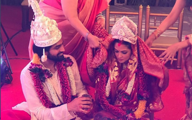 SEN-SATIONAL: Riya Sen MARRIES Shivam Tewari In A Hush-Hush Ceremony