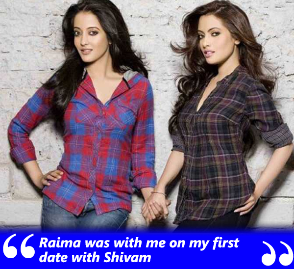 riya sen was accompanied by sister raima sen on her date with shivam