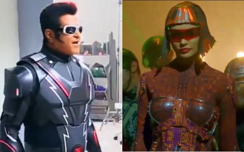 Robot 2.0 Leaked Video: Akshay Kumar-Rajinikanth-Amy Jackson Starrer Is A VFX Masterpiece