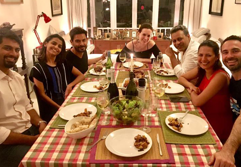 rochelle rao parties with beau keith