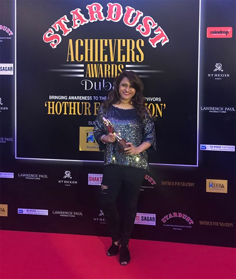 rohini iyer wins stardust achievers award for the most influential media entrepreneur