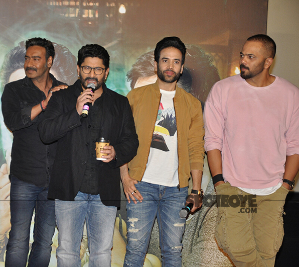 rohit shetty with golmaal again cast