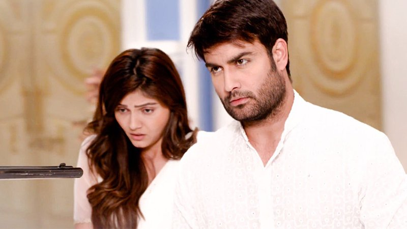 rubina dilaik and vivian d sena in shakti