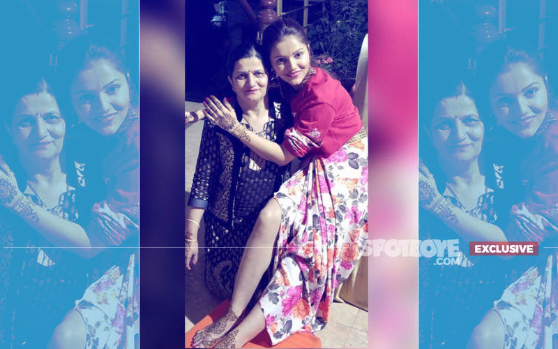 Wedding Fun Begins: Here's The First Look Of Rubina Dilaik's Mehendi
