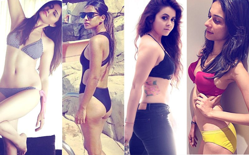 Rubina Dilaik, Nia Sharma, Devoleena Bhattacharjee, Aneri Vajani -- TV Bahus Who Went BOLD In 2017