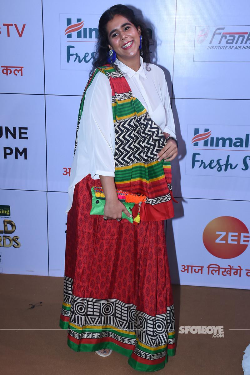 rytasha rathod at gold awards 2018