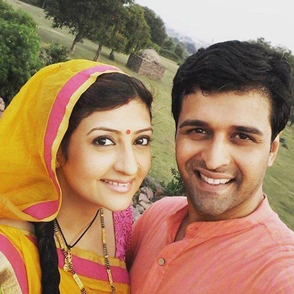 sachin shroff and juhi parmar during happier times