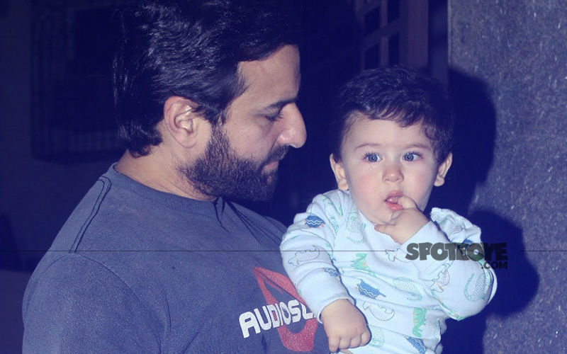 Guess What Taimur Calls His Father, Saif Ali Khan?